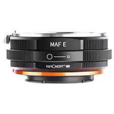 K&F Adapter Pro for Sony Alpha Minolta AF A-Type Lens Mount  to Sony NEX E-mount