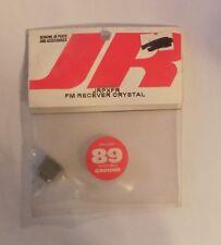 JR JRPXFR Receiver Crystal CH 89 75 MHz Ground NIP