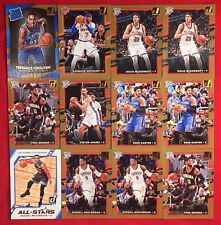 Thunder 2017-18 Donruss <12 Pack> Team + Lot: Russell Westbrook + <All-Stars> 🏀