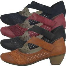 Rieker 41743 Women Schuhe Damen Antistress Pumps Absatz Sandaletten Hackenschuhe
