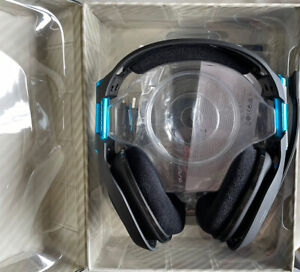 Astro A50 Black/Blue PS4+PC Wireless Gaming Headset