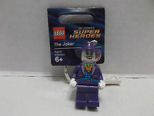 Lego #6063420 The Joker Key Chain DC Super HeroesRare & HTF  With Tag NIB 2014!