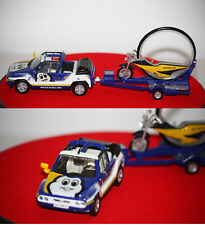 Norev Renault MEGA Loisir et Moto Roue Michelin Tour de France 2001 1/43 880011