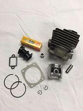 Stihl cylinder assembly MS341 MS361 1135 020 1202 gaskets intake NGK Plug 47mm