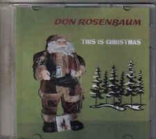 Don Rosenbaum-This Is Christmas Promo cd single