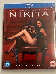Nikita Complete First Season Blu-ray New & Sealed (Series 1) Maggie Q