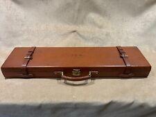 Vintage Leather Gun Case: customisation project