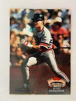 Scott Livingstone Detroit Tigers 1992 Topps Baseball Card 317