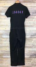 VTG Nike Air Jordan Women's Black Jumpsuit Size Medium One Piece Coverall *Rare*