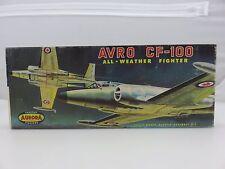 Aurora AVRO CF-100 FIGHTER Scale Plastic Model Kit 137-98 UNBUILT 1960