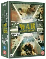 WAR- 6 DVD BOXSET Born On The 4th Of July / Casualties Of War / Gardens Of Stone