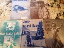 Junior Natural History 1955 1956 Issues 5