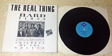 """THE REAL THING (12""""MAXI) """"HARD TIMES (EXTENDED)"""" [GER 1987 JIVE REC.]"""