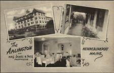 Kennebunkport ME The Arlington Multi-View Postcard