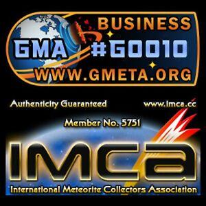 Libyan Desert Glass LDG Fragment | Authenticity Guaranteed | IMCA5751 GMA G0010