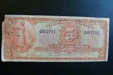 Haiti 5 Gourdes 1919