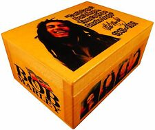 Bob Marley Reggae Rasta Music Figure, Weed BOX AUTOGRAPHED, Art Print Quote Flag
