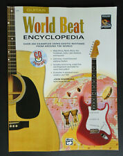 World Beat Encyclopedia For Guitar Exotic Rhythms Technique Book w/ Cd New Other