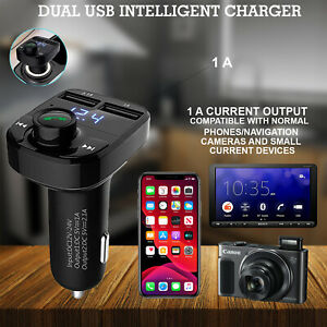 CAR X8 Mp3 Player Wireless Bluetooth FM Transmitter Kit USB Fast Charger Adapter