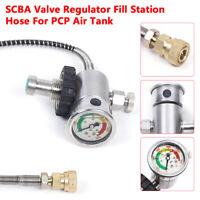 1x 4500Psi SCBA Valve Regulator Fill Station Hose For PCP Air Tank M18x1.5 best