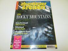 Abenteuer & Reisen - Oktober 10 / 1997 - USA Rocky Mountains, Griechenland, Iran