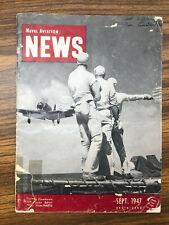 Naval Aviation News RARE ISSUE (September 1947, No. 274)