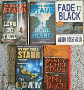 WENDY CORSI STAUB PAPERBACK 5 BOOK LOT CRIME THRILLER MYSTERY NOVELS