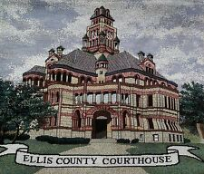 Ellis County Courthouse Tapestry Tote Bag with Shoulder Straps Waxahacie Texas