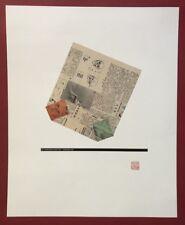 KP Brehmer, Chinatüte, Offsetdruck, 1989, handsigniert und datiert