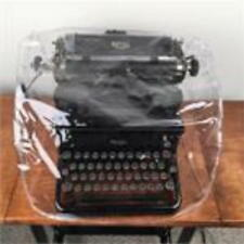 ONE BRAND NEW Clear Universal Typewriter Dust Cover, SEE SIZES BELOW w/warranty