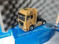 "MAN TGX GX 18.640  ""The new MAN TGX"" Zugmaschine GOLD  Conrad 1:50  Art: 80000/0"