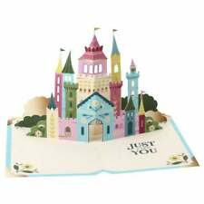 UWP Luxe Fairy Tale Book Mini 3D Pop Up Girls Greetings Card