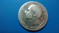 MONETE D'ARGENTO SPAGNA 1 PESETA. ALFONSO XII 0.835/1000 ANNO 1883