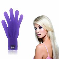Purple Heat Resistant Glove for Curling Wands Straighteners & Styling Hair Tools