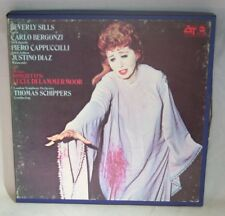 "7"" Reel Tape- Donizetti Lucia Di Lammermoor ~ Sills ~ Bergonzi 7.5 IPS Tested  O"