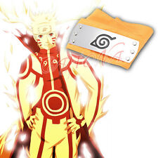 Cafiona Naruto Uzumaki Nine Tail Cosplay Costume Accessory Headband Halloween