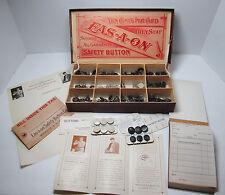 SUPER RARE 1905 Eas-a-on Button Counter Salesman Sample Rochester NY Advertising