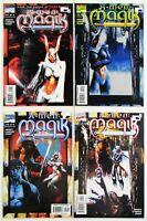 X-Men: Magik #1-4 Complete 4 Issue Mini-Series (Marvel 2000) Black Sun UNREAD