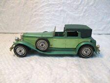 """Ancienne petite voiture modèle """"J"""" DUESENBERG (1930)"""