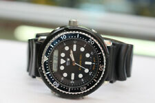 "Vitnage ""ARNIE"" Seiko H558-5000 150m Analog Digital Diver Watch Quartz New Batt"
