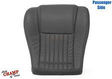 1997-1999 Pontiac Firebird Trans Am -Passenger Bottom Leather Seat Cover Gray