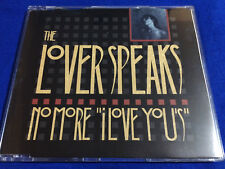 THE LOVER SPEAKS - No More I Love You's CD Single / New Wave