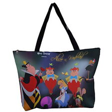 Alice In Wonderland Tote Handbag Shoulder Bag Messenger Purse p26 w0003