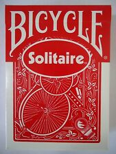 BICYCLE Solitaire WHEEL No. 2 BACK playing cards NEW, poker size, repro backs