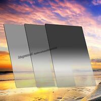 Zomei 4*6in. ND2 ND4 ND8 Graduated Neutral Density Filter Soft for Cokin Z