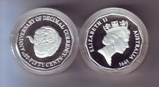 1991 SILVER Proof 50 Merino Ram Sheep Wool over 1/2 oz ex Masterpieces in Set **