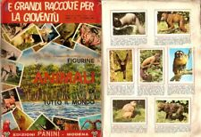 Album Figurine Animali di Tutto il Mondo Panini 1965 in Pdf