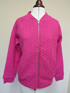 Boden Quilted Bomber Jackets - Size 12 -  Pink - *LAST ONE*