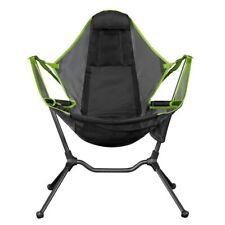 Portable Camping Folding Rocking Chair Pillow Travel Beach Hiking Picnic Seat