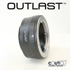 OUTLAST MD-NEX Lens Adapter Minolta MD to Sony E Sony NEX Mount Adapter (MD-NEX)